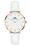 Daniel Wellingtonin Petite Bondi -kelloissa pyöreä ja ohut muotoilu yhdistyy näyttävästi laadukkaisiin nahkarannekkeisiin.