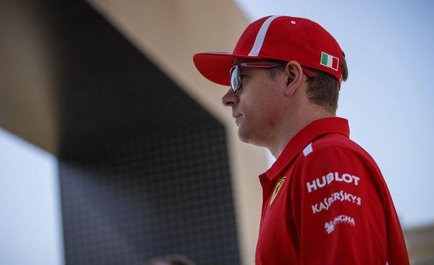 Kimi Räikkösen vauhti oli kohdallaan perjantain harjoituksissa.