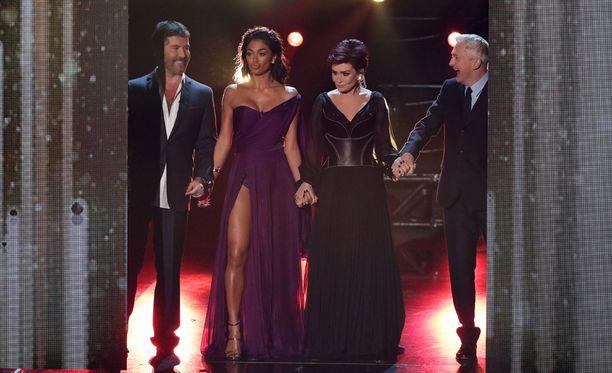 X Factor -tuomarit ovat pitäneet Saara Aallon mukana ohjelmassa.