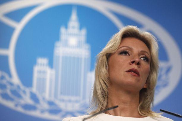 Venäjän ulkoministeriön tiedotusosaston johtaja Marija Zakharovan mukaan luettu verkkomedia Meduza on ulkomainen agentti.