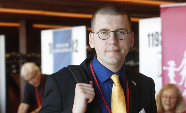 Sebastian Tynkkynen tuli aikoinaan julkisuuteen Big Brother -tosi-tv-ohjelman kautta.
