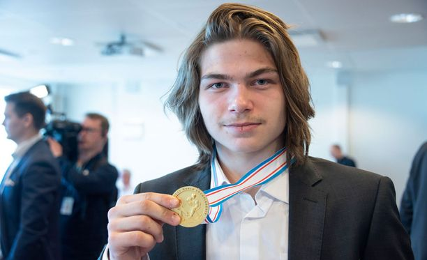 Niklas Nordgren voitti alle 18-vuotiaiden MM-kisojen maalikuninkuuden.