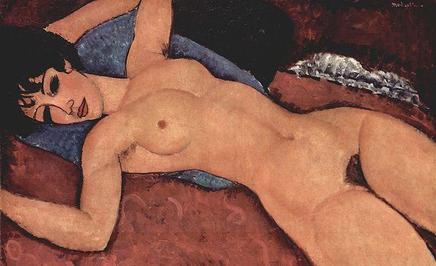 Modigliani on tunnettu erityisesti pelkistetyistä muotokuvista ja alastonkuvista.