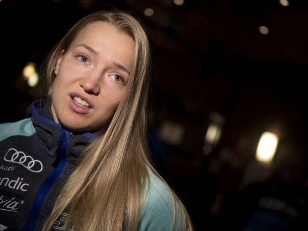 Anita Korva ei hiihtänyt yhtään kisaa viime kaudella terveysmurheiden vuoksi.