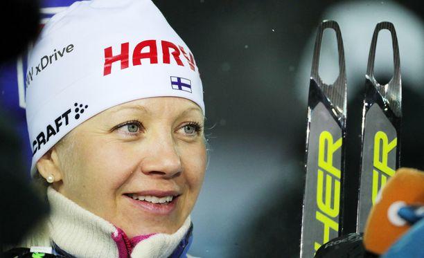Kaisa Mäkäräinen ei ole vielä ainakaan julkisuuteen kertonut uransa jatkosta.