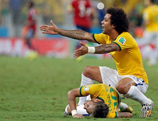 Marcelo protestoi voimakkaasti.