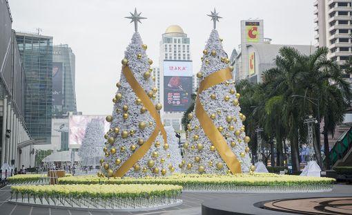 Joulu näkyy myös Bangkokissa.