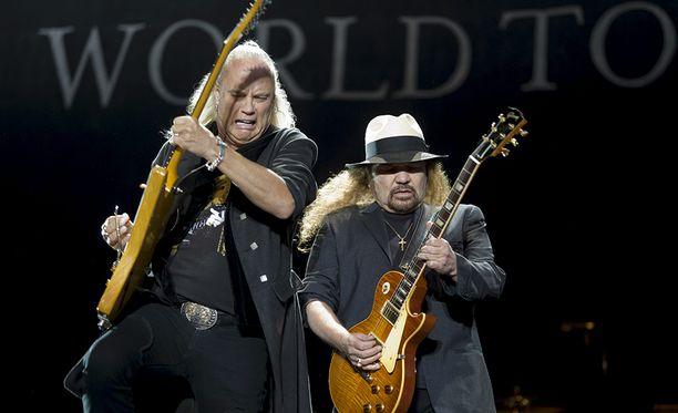 Lynyrd Skynyrd on yksi southern rockin isoimmista nimistä.