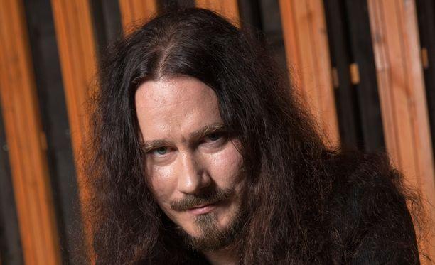 Tuomas Holopainen sai nimikkohyönteisen.