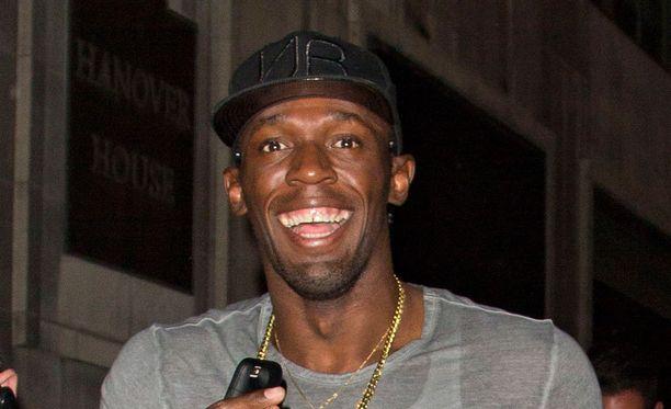 Usain Bolt vihjailee kosineensa naisystäväänsä.