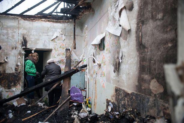 YK:n pakolaisjärjestö UNHCR kertoi viime joulukuussa, että yli puoli miljoonaa ihmistä on joutunut jättämään kotinsa Itä-Ukrainassa.