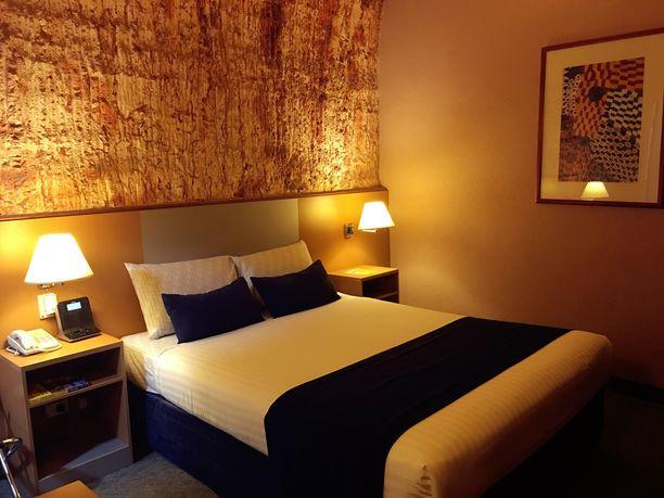 Maanalaisessa kaivoskylässä on myös maanalainen hotelli.