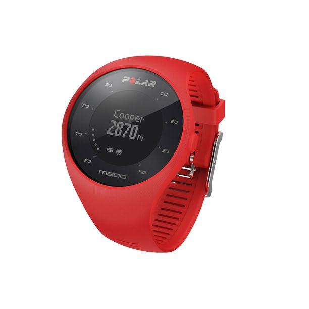 Polar M200 on kevyt ja helppokäyttöinen GPS-juoksukello, joka mittaa sykkeen ranteesta. Suositushinta 149,90€