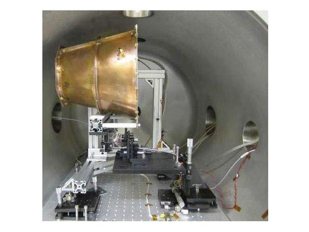 Ei toimi. Tämä kuva on Nasan tutkimuksista. Saksalaisfyysikot todistivat, että tämä moottori ei toimi.