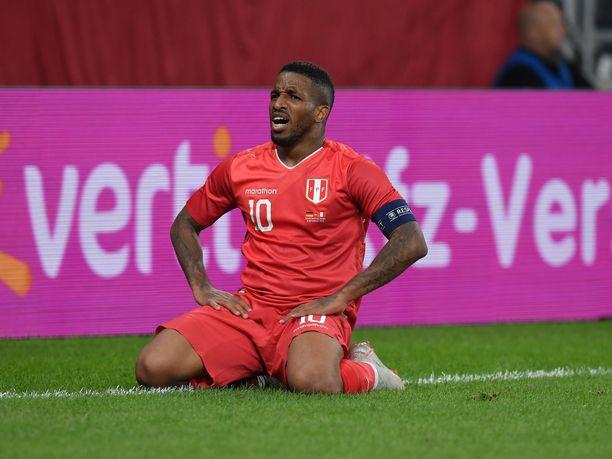 MM-kisoissakin Perua edustanut Jefferson Farfan on toiminut viime vuosina maansa kapteenina.