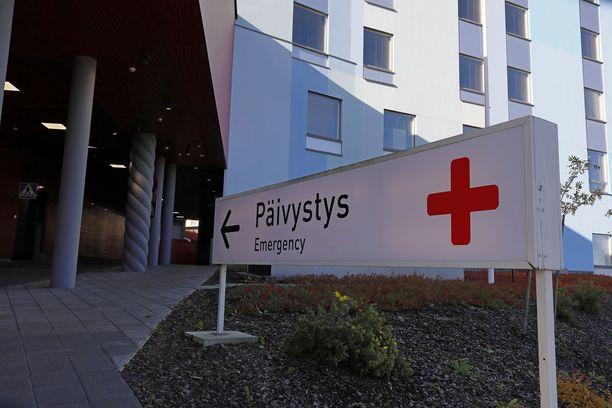 Yöllinen varas tallentui sairaalan valvontakameraan Lappeenrannassa.