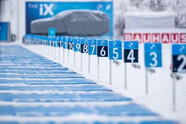 Ampumahiihdon maailmancup jatkuu perjantaina Oberhofissa.