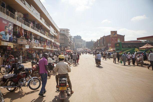 Kampala on 1,5 miljoonan asukkaan kaupunki.