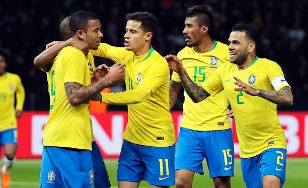 Vetovihjeessä uskotaan Brasilian voittoon.