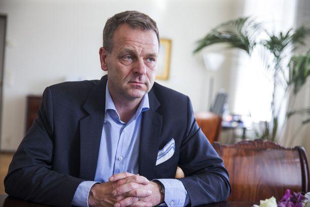 Jan Vapaavuoren mukaan Helsingin talous kestäisi veroäyrin laskemisen.