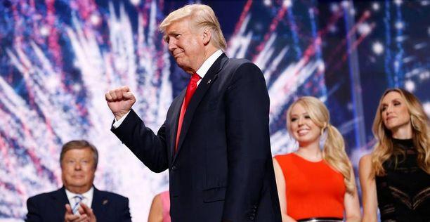 Donald Trump kampanjoi tällä viikolla neljässä eri osavaltiossa.