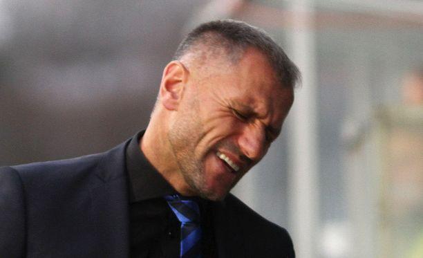 Shefki Kuqin mukaan pelaajat eivät pysyneet ottelusuunnitelmassa.