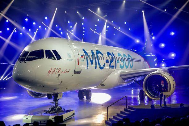 Matkustajalentokone Irkut MC-21.
