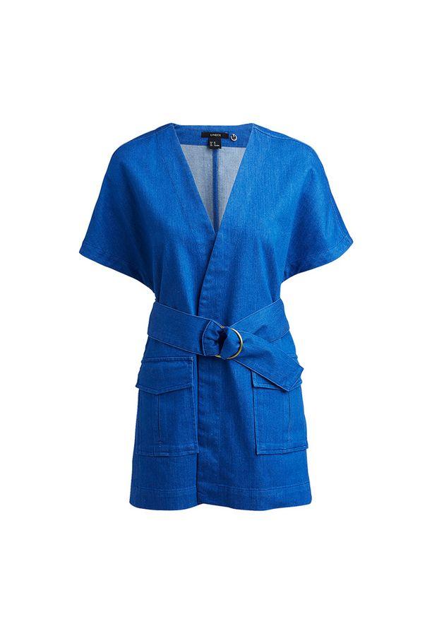 Kauniisti laskeutuva denim-kimono, 79,95 e, Lindex Extended