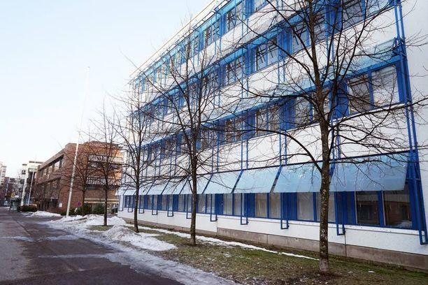 Venäjän federaatiolle jäi tämä toimistorakennus.
