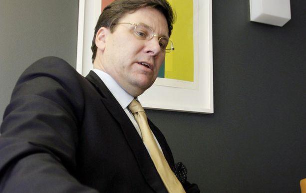 Juho Lipsanen on tällä hetkellä Vapon hallituksen puheenjohtaja.