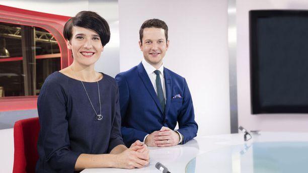 Aino Huilaja työskenteli MTV:llä muun muassa Jaakko Loikkasen aisaparina.