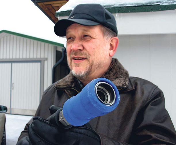 VALINTA Taloudellisuus ja päästöttömyys saivat Matti Pitkäsen valitsemaan auton ja kodin energialähteeksi maakaasun.