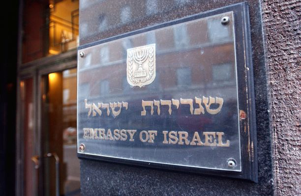 Israelin suurlähetystöön on israelilaisen uutismedian mukaan tehty jo ainakin 15 hyökkäystä viimeisen puolentoista vuoden aikana. Kuvituskuva.