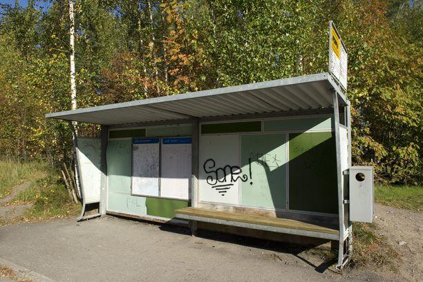 Miestä puukotettiin silmään Espoossa. Kuvituskuva.