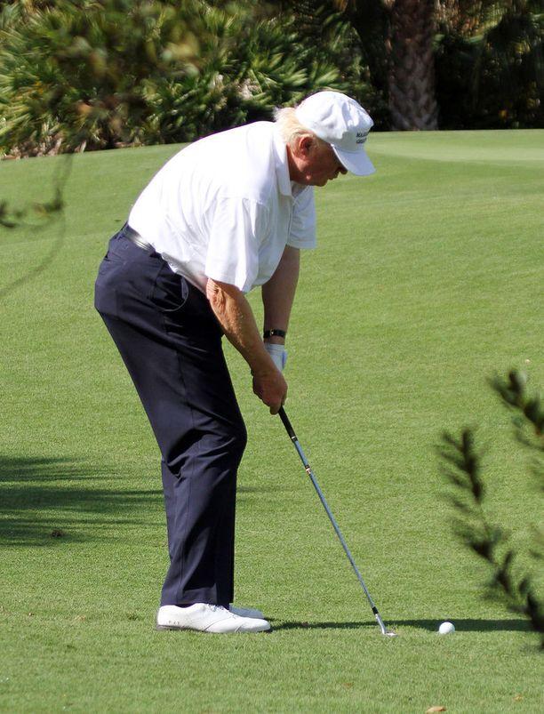 Donald Trump uskoo golfin olevan riittävä kuntoilumuoto painonpudotuksessa.