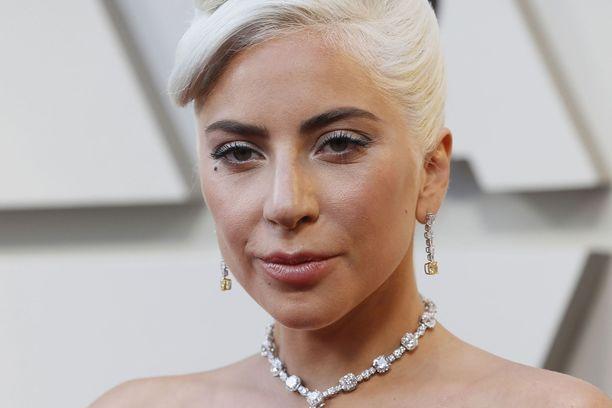 Lady Gaga oli tapahtumahetkellä kuvauksissa Roomassa.