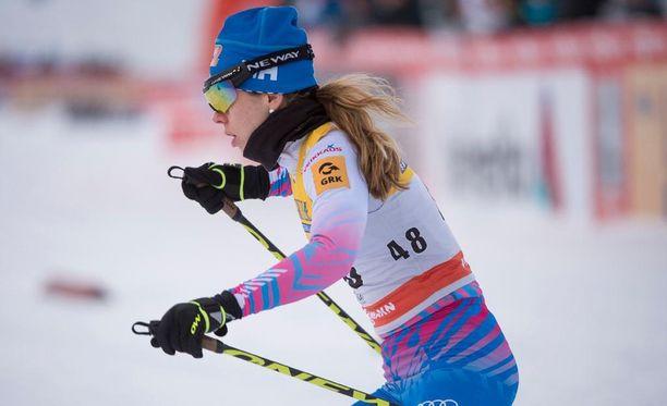 Laura Mononen oli Rukan maailmancupin toiseksi paras suomalaisnainen.