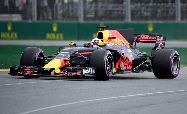 Daniel Ricciardoa ei nähdä Australian GP:ssä.