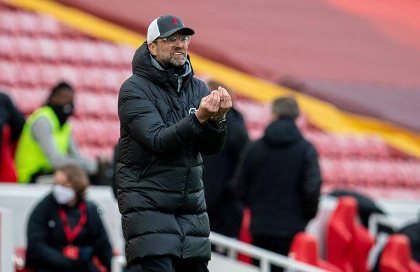 Liverpoolin manageri Jürgen Klopp ei aio luovuttaa kesken sopimuskauden.