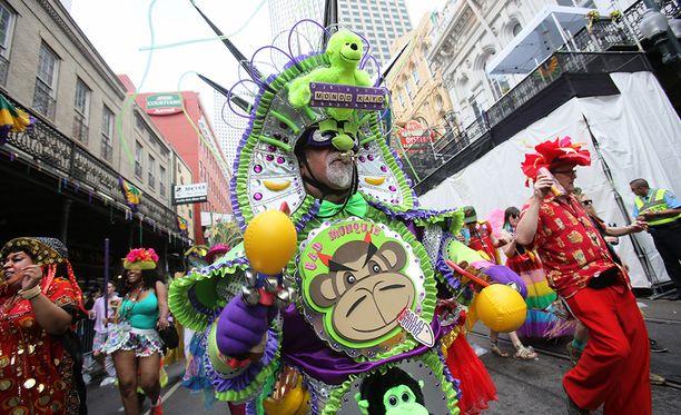 Mardi Gras kerää joka vuosi New Orleansiin noin 1,4 miljoonaa vierailijaa. Ensimmäinen paraati järjestettiin vuonna 1837.