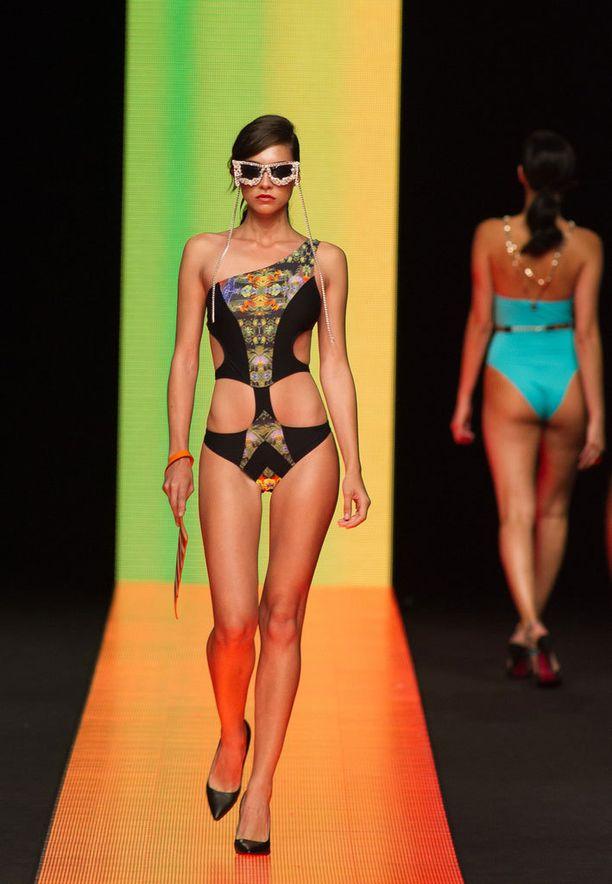 Moda Calidan muoti oli jo samankaltaista Gran Kanarian näytöksessä.