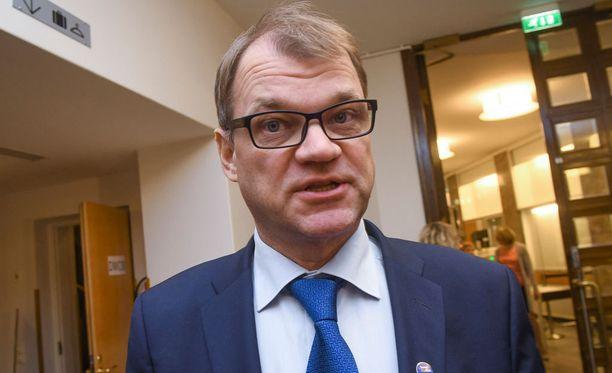 Pääministeri Juha Sipilä (kesk) luottaa siihen, että pitkäaikaistyöttömien määrä laskee edelleen.