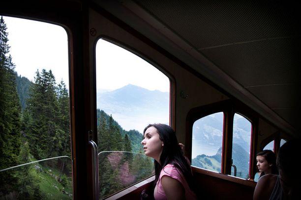 Matka tässä junassa on oikea elämys.