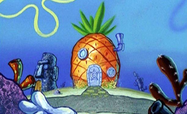 Paavo Pesusienen ananas on toiminut hotelliväen inspiraationa.