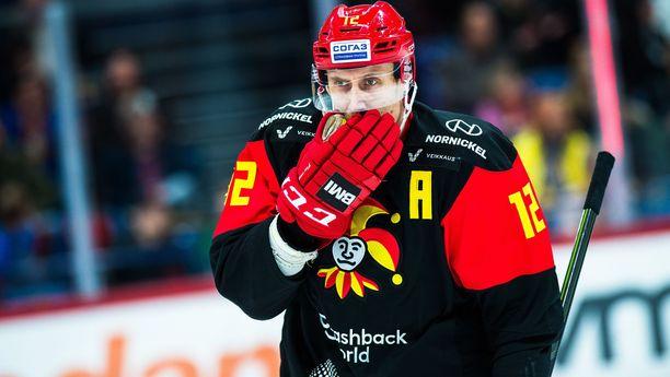 Leijonien MM-kisasankari Marko Anttila sai tämän kauden maalitilinsä auki myös Jokerien paidassa.
