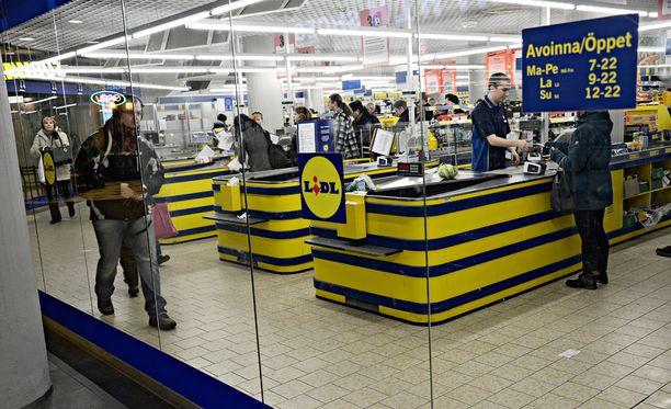 Kuluttajat voivat palauttaa tuotteet Lidl-myymälään, jossa hinta korvataan. Arkistokuva.