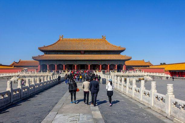 Kielletty kaupunki on suosittu turistikohde.