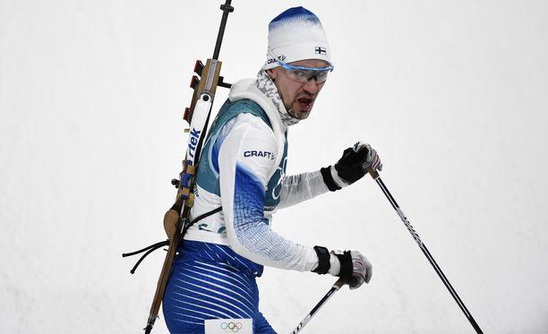 Olli Hiidensalo ylsi olympialadulla uransa parhaimpaan, sijalle 19.