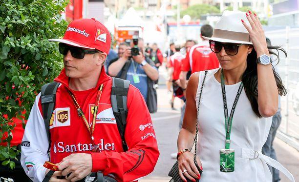 Kimi ja Minttu kuvattiin viime vuonna yhdessä Monacossa.