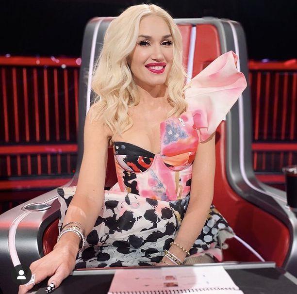 Gwen Stefani tunnetaan No Doubt- yhtyeestä, soolourastaan sekä The Voice -tuomarina.